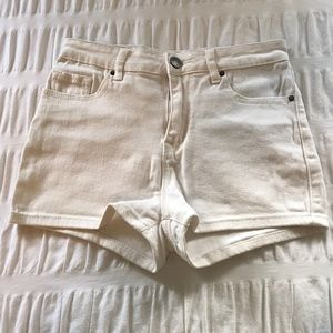 White Urban Outfitters High Waisted Shorts Size 26